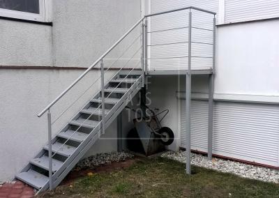 schody stalowe przemysłowe