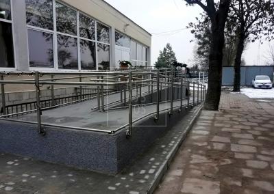 balustrada dla niepełnosprawnych